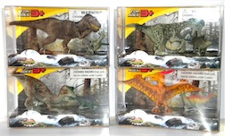 Counter Display Includes 4 Assorted Dino Styles, comes with 24 Pieces Total