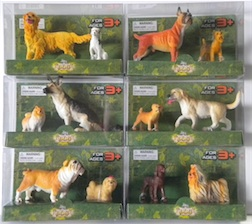 Counter Display Includes 6 Assorted Dog Styles, comes with 24 Pieces Total