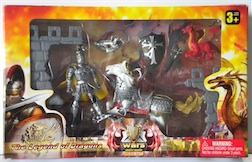 LARGE KNIGHTS PLAYSET