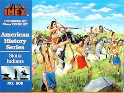 1/72 SIOUX INDIANS