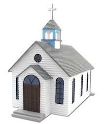 1ST CHURCH HO SCALE