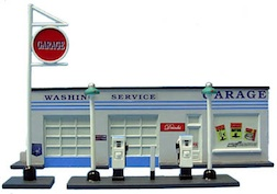 GAS STATION HO SCALE