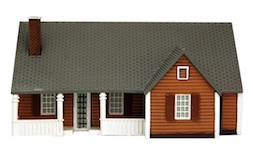 NEW ENGLAND RANCH HOUSE HO SCALE