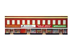 4 STORE BUILDING HO SCALE