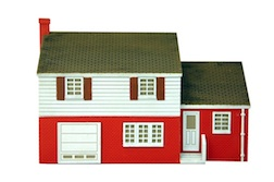 SPLIT LEVEL HOUSE HO SCALE