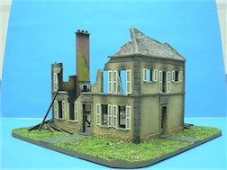 1/72 MANOR HOUSE POLYSTONE BUILDING