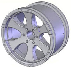 14-17MM EAGLE CHROME TRUCK RIMS (4)