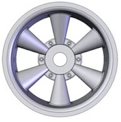 14-17MM HAWK CHROME TRUCK RIMS (4)