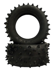 BLACKFOOT SPIKED TIRES SOFT (1 PAIR)