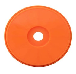 1/8 DISH BUGGY RIMS ORANGE (4)