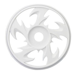 1/8 BEY BUGGY RIMS WHITE (4)
