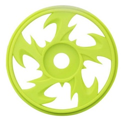 1/8 BEY BUGGY RIMS YELLOW (4)