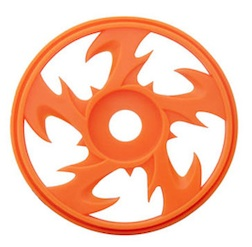 1/8 BEY BUGGY RIMS ORANGE (4)