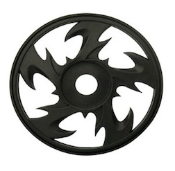 1/8 BEY BUGGY RIMS BLACK (4)