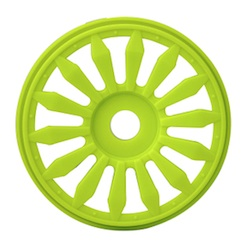 1/8 LIZZARD BUGGY RIMS YELLOW (4)