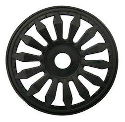 1/8 LIZZARD BUGGY RIMS BLACK (4)