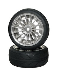 1/10 SCALE ON-ROAD TIRE SET (4)