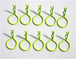 LG RING YELLOW BODY PINS (10)