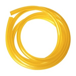 YELLOW 6*3MM POLY TUBING FOR GAS-100CM