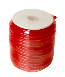 RED 6*3MM POLY TUBING FOR GAS-15M