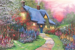 FLORAL COTTAGE 1,500 PIECE PUZZLE