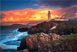 1500 PIECE FANAD HEAD LIGHTHOUSE PUZZLE
