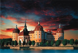 1500 PIECE MORITZBURG CASTLE, GERMANY PUZZL